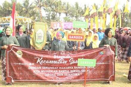 Kirab Hari Jadi Kabupaten Bantul Ke 187