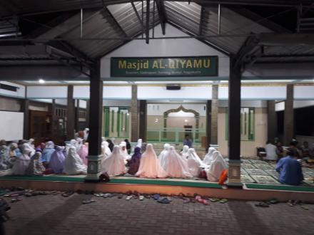 Kegiatan Jamaah Masjid Al-Qiyamu Buyutan Menyongsong Tahun Baru Hijriyah