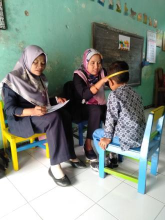 Deteksi Tumbuh Kembang Balita (DTKB) di TK Pertiwi 12
