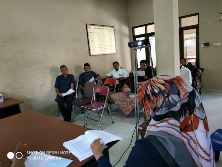 Rapat Koordinasi Pemerintahan Desa Gadingsari