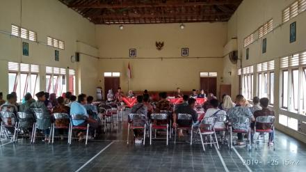 Rapat Koordinasi Rencana Pembentukan KPPS