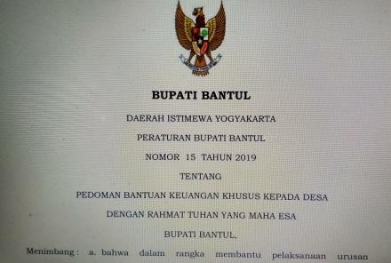 Format Proposal BKK untuk Tahun 2020
