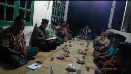 Sosialisasi Pembangunan Bangket Dusun Wonorejo I