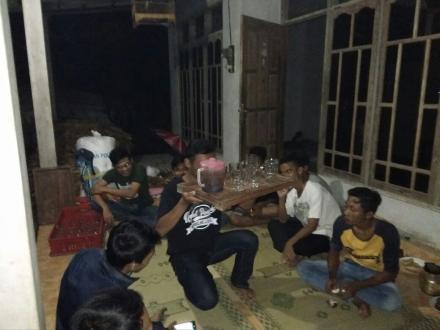 Lestarikan Adat Tradhisional, Pemuda Dusun Wonoroto Adakan Latihan