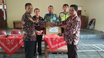 Kasi Pemerintahan Kec Sanden Lakukan Monitoring Pelaksanaan Ujian Pamong Desa