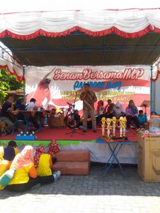 Joko Waluyo wakili Lomba Penyuluhan KB Pria Kecamatan Sanden