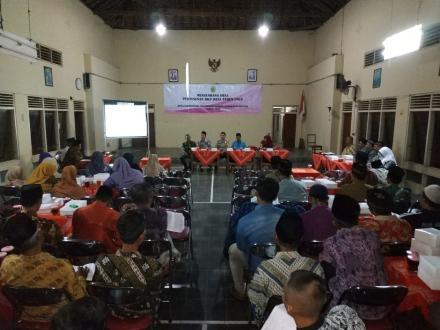 MUSRENBANG RKPDes Desa Gadingsari 2019 Bahas Perencanaan Pembangunan Desa Yang Tepat Sasaran