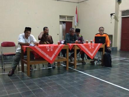 Penyegaran Pengurus FPRB Desa Gadingsari