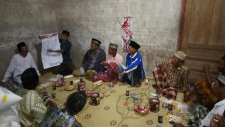 Sosialisasi PEMILU oleh PPS di Dusun Klatak