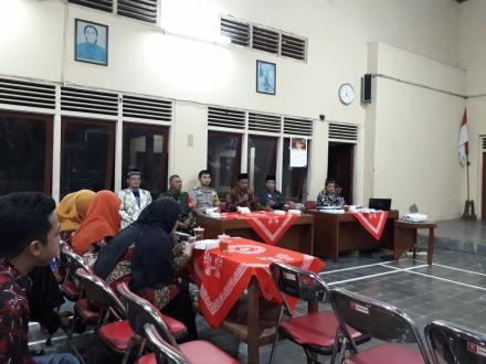 Pelantikan KPPS se-Desa Gadingsari