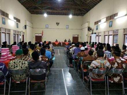 Pertemuan RT se-Desa Gadingsari