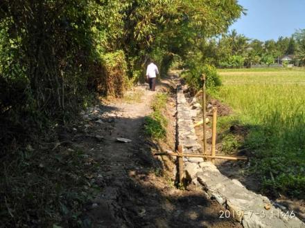 Survey Lokasi Pembangunan Bangket di Dusun Demangan
