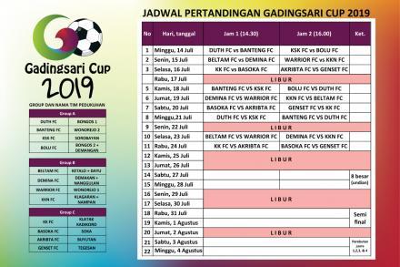 Hari Ini Pembukaan Gadingsari Cup 2019