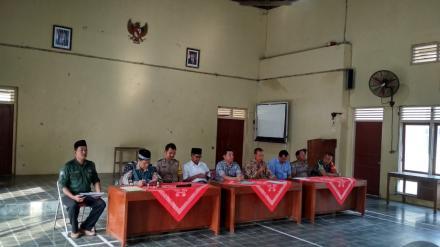 Ceremonial Penyerahan Pelaksanaan Ujian Pamong Desa dan Staf