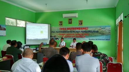 Pra Musrenbang Perencanaan Tahun 2021 Kecamatan Sanden