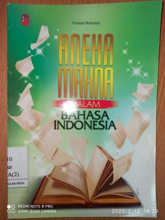 Aneka Makna dalam Bahasa Indonesia