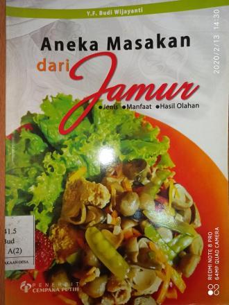 Aneka Masakan dari Jamur