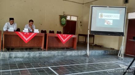 Sosialisasi Korupsi, Kolusi dan Nepotisme/ Saber Pungli dari Inspektorat Bantul
